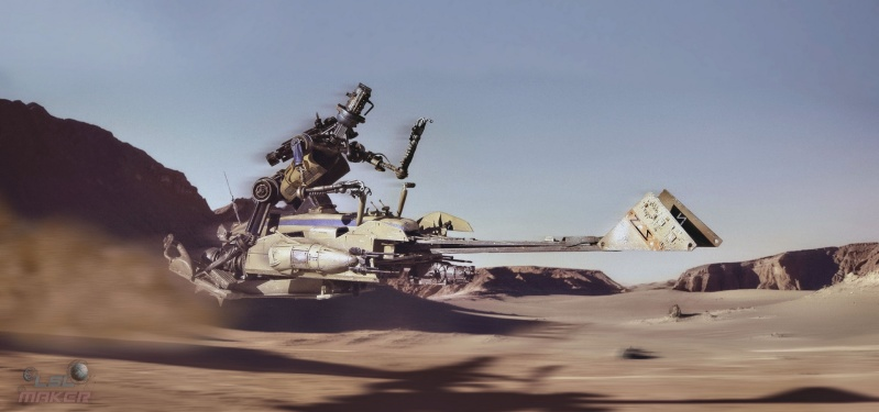 Archive-X Speeder Bike Challenge 2020